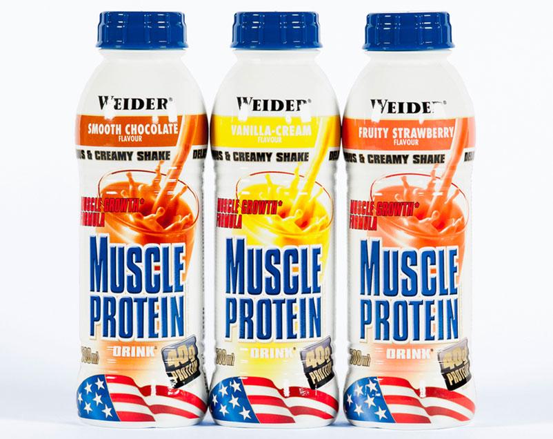 Für Bodybuilder - Best Taste and Quality, für zu Hause, unterwegs oder bei der Arbeit. Ideale Nahrungsergänzung mit Protein und Kohlenhydraten für Sportler mit erhöhtem Proteinbedarf.